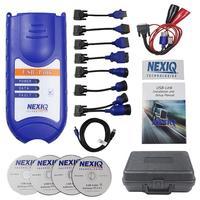 Новый Стиль Пластиковый грузовик OBD диагностики неисправностей детектор 12 В для NEXIQ USB Link тесты устройства используется с настольных ПК ноут