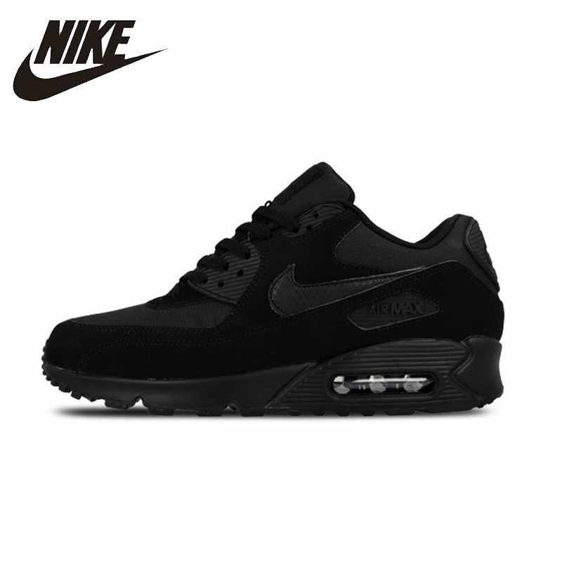 best service 04ac0 5b605 NIKE AIR MAX 90 Mens Running Shoes Mesh Breathable Stability Support Sports  Sneakers For Men Shoes
