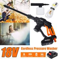 Portable 12V Car Washer Guns Cordless Pressure Cleaner Rechargable Car Care Washing Machine Electric Cleaning Device Home Garden