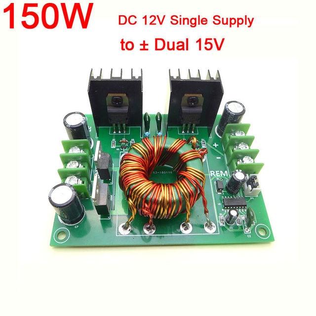 60w 150w Dc 12v Single Supply To 12v 15v Positive Negative