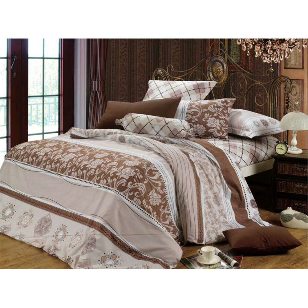 Bedding Set SAILID B-96 cover set linings duvet cover bed sheet pillowcases TmallTS colorblock striped print sheet set