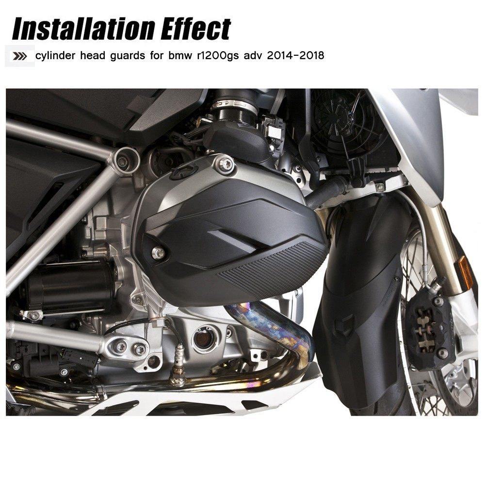 Cylinder Head Guards For BMW R1200GS LC 2014 2017 Engine Protector Cover For r1200gs adv For