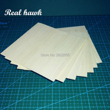 AAA+ Balsa Wood Sheets 100x100x2.5mm Model Balsa Wood for DIY RC model wooden plane boat material цены