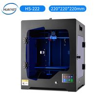 HUAFAST 3D Printer HS 222 printing machine service 3 d kit print hotend mega 2560 marlin mk8 extruder with 1kg pla abs filaments