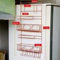 Refrigerator Side Wall Multi Purpose Rack Kitchen Storage Box