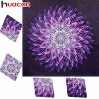 Huacan Diamond Embroidery Sale Flower Diamond Painting Special Shaped Picture Of Rhinestones Mosaic Beadwork Home Decor 40x40