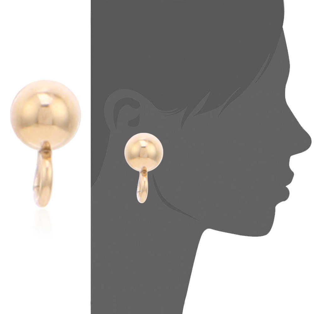 Badu 4mm Gold Stud Edelstahl Runde Ball Form Basis Ohrring Stecker Für DIY Schmuck Ohrringe Zubehör