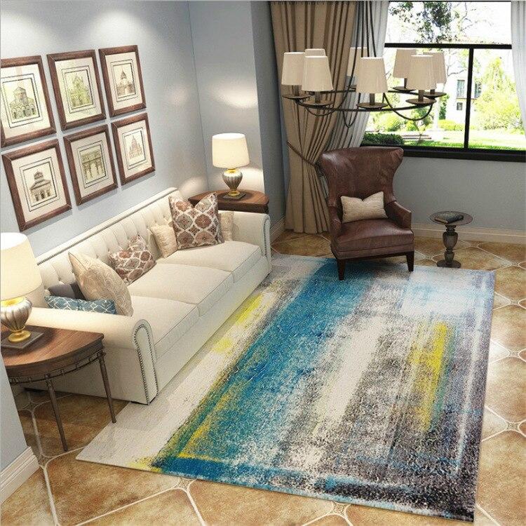 DeMissir 2019 moderne concis Arts motif abstrait tapis tapis pour maison salon thé Table chambre Pad alfombra tapete