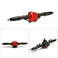 1Set Rc Car Complete Alloy Metal Front And Rear Axle With Arm CNC Machined For 1:10 Rc Crawler AXIAL SCX10 RC4WD S242