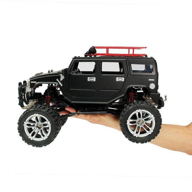 2019 HG P403 RC coche 1/10, 2,4G 4WD 20 km/h Color negro coche Rc Rock Crawler Off-road camión RTR 40A electrónico stepless 2 en 1 ESC