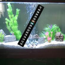 Fish tank temperature strip