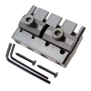 Image 5 - أسود 4 سلسلة باس الذيل جسر نظام السرج مقطوعة الرأس الكهربائية باس أجزاء الملحقات