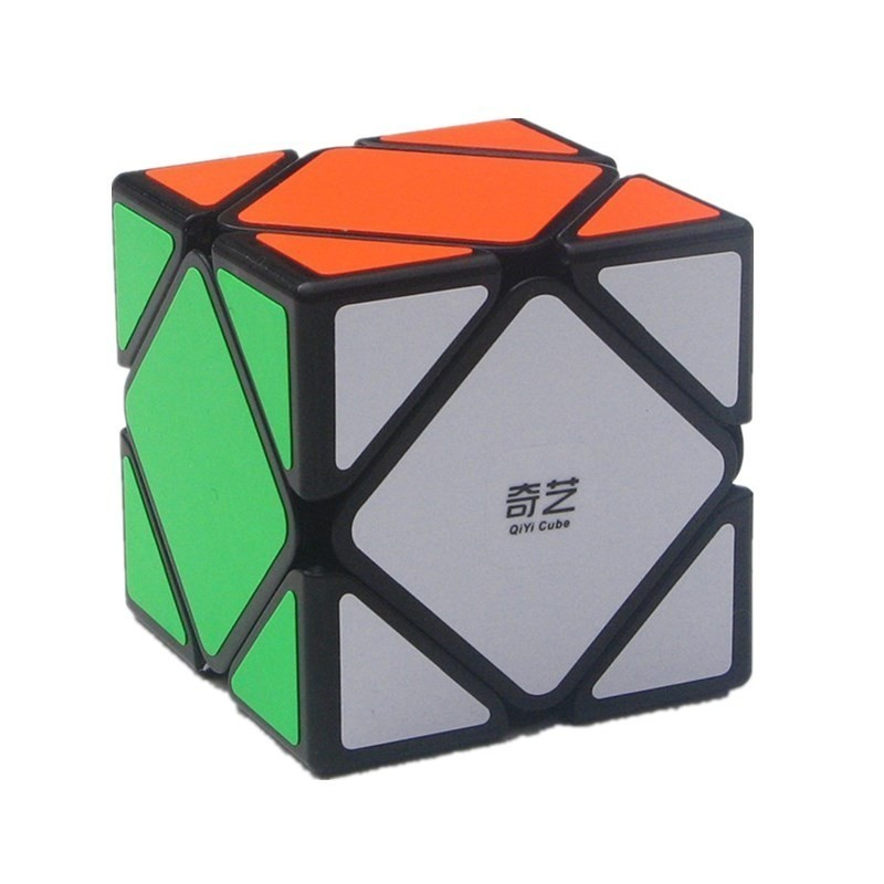 Qiyi Qi Cheng A Skew Cube Inclined Magic Cube Special-shaped Interest Magic Cube Alpinia Oxyphylla Interest Toys For Children Soft And Light Toys & Hobbies Magic Cubes