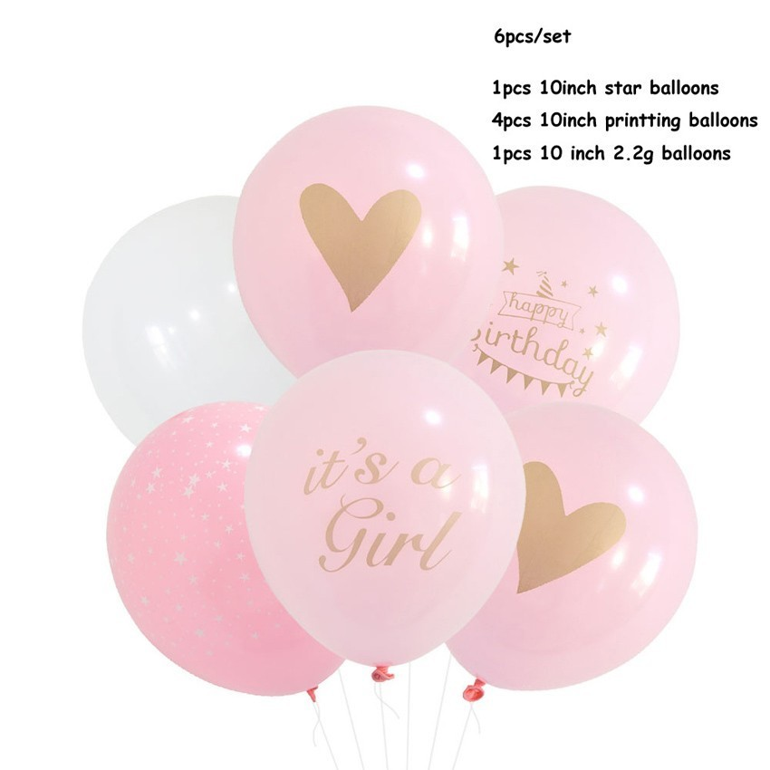 Happy Birthday Confetti Balloon Decoration Balloons ...
