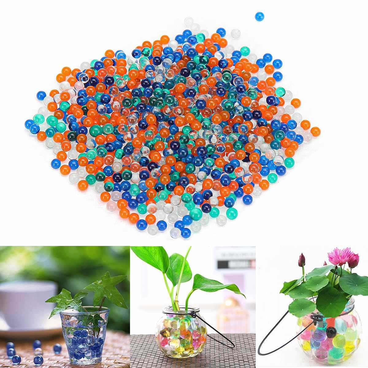 10000 Pcs 7-8mm Kristall Kugeln Wasser Ammo Perlen Für Gel Ball Pistolen Blasters Spielzeug Wasser Pistolen Munition außenshotting Kugeln