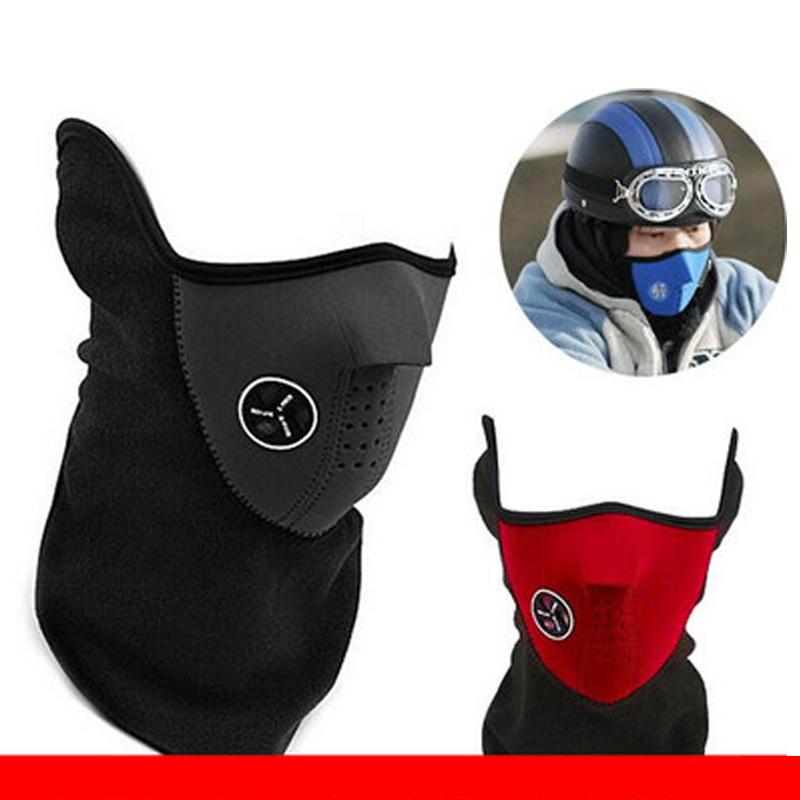 New Warm Fleece Bike Half Face Mask Cover Face Hood Protection Cycling Ski Sports Outdoor Winter Neck Guard Scarf Warm MaskNew Warm Fleece Bike Half Face Mask Cover Face Hood Protection Cycling Ski Sports Outdoor Winter Neck Guard Scarf Warm Mask