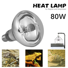 Pet Heating lamp 100W 80W heat lamp for Reptiles and Amphibians Self-rectifying Mercury Lamp with Transparent Surface ultimate explorer field guide reptiles and amphibians