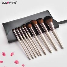Soft Natural Kit Makeup Brushes 9pcs Sets Of Brushes For Makeup Brush Case Powder Foundation Eyeshadow Kabuki Make Up Brush Tool
