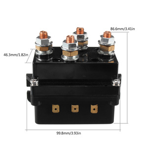 Image 5 - Uniwersalny elektromagnetyczny podwójny bezprzewodowy pilot zdalnego sterowania odzyskiwanie 4x4 12V 500Amp HD sterowanie wciągarką stycznika