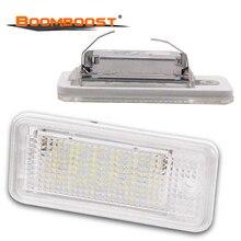 Светодиодный светильник номерного знака Canbus, 2 шт., лампа номерного знака для AUDI A3 S3 8P 8PA A4 S4 B6/B7 RS4 A5 A6 S6 C6 A8 S8 D3 Q7 4L