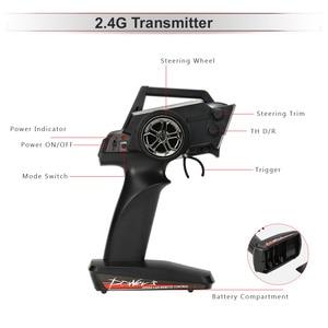 Image 3 - Transmetteur Radio Original pour voitures, 2.4G, télécommande pour Wltoys 12428 1:12 pour voiture RC chenille