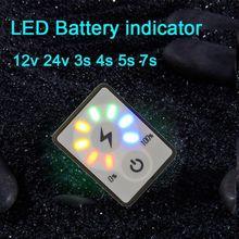 2S 3S 4S 5S 6S 7S 12V 24V Batterie Monitor Li-Ion lithium- blei-säure Kapazität Led-anzeige Power Display Tester Elektrische fahrzeug