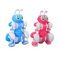 RC Ant Robot Toy Talking Dialogue Robot Kids Ant Intelligent Programming Pet Toy Children Remote Control Toys Blue Pink