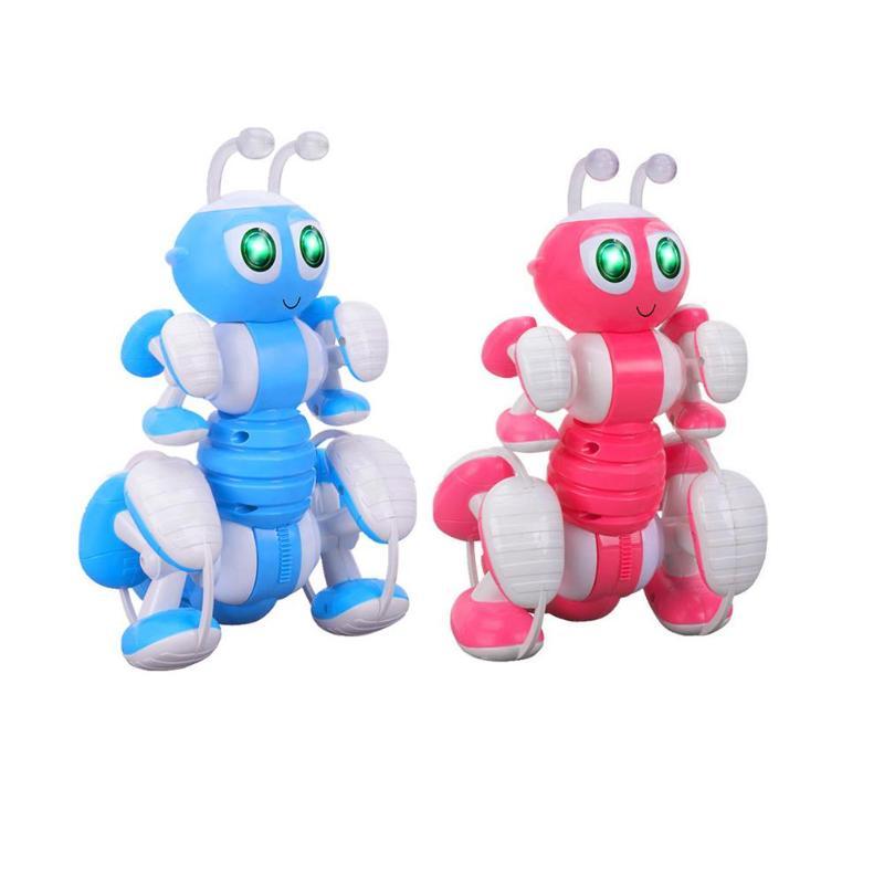 RC Ant Robot jouet parlant Dialogue Robot enfants Ant Intelligent programmation Pet jouet enfants télécommande jouets bleu rose