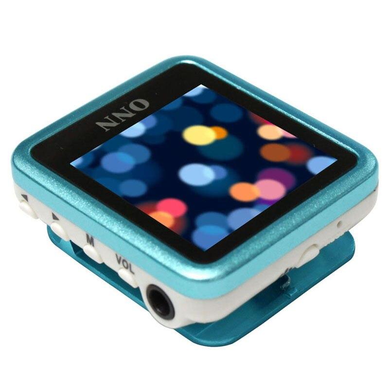 ONN Q6 8GB MP3 1.5 Inch TFT FM Recording Clip Design WMA WAV Mp3 Music Player