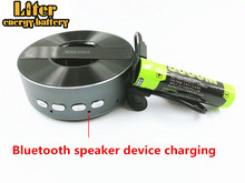 Хорошего качества 4 Светодиодный индикатор USB 5000 м 18650 3,7 в 3500 мАч Мобильный зарядки батарея разведки литий-ионный перезаряжаемые батарея