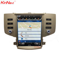 KiriNavi Vertical Screen Tesla Style 10.4 Inch android 6.0 Car Radio For Toyota Reiz Mark X Android GPS Navigation 2005 2009