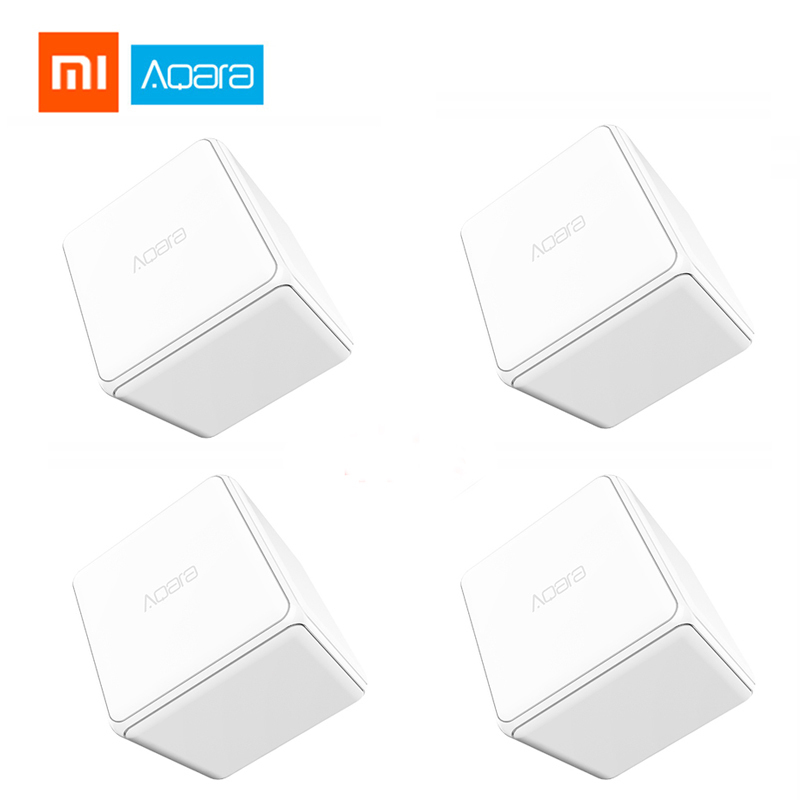 Xiaomi Aqara Magic Cube Control Zigbee Version Controlled By Six Actions For Smart Home Device Magic Cube Work With Mi Home App