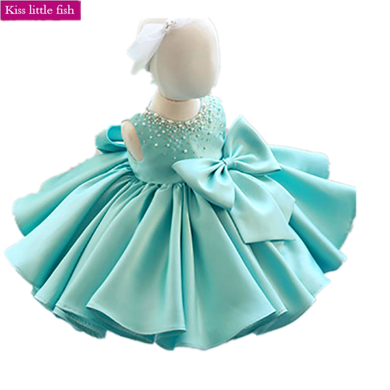 Free shipping girl flower girl dresses Baby girls dresses for party and wedding Vestidos infantis