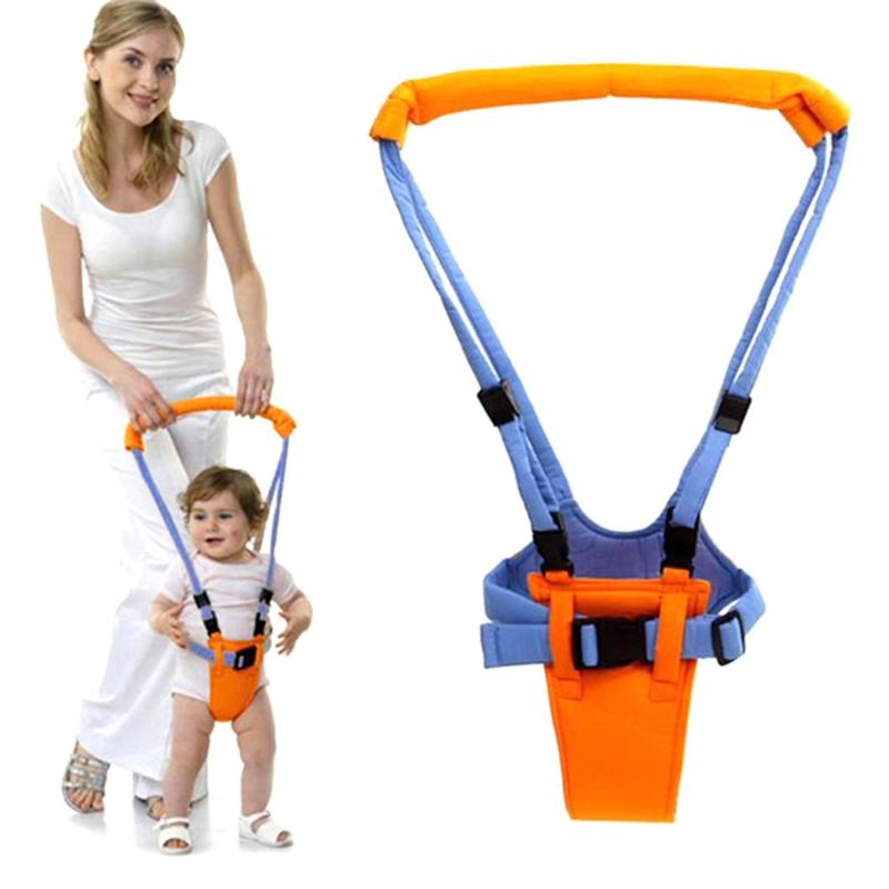 New Baby Walker Harness Assistant Toddler Leash For Kids Learning Walking Belt Child Safety Harness Assistant