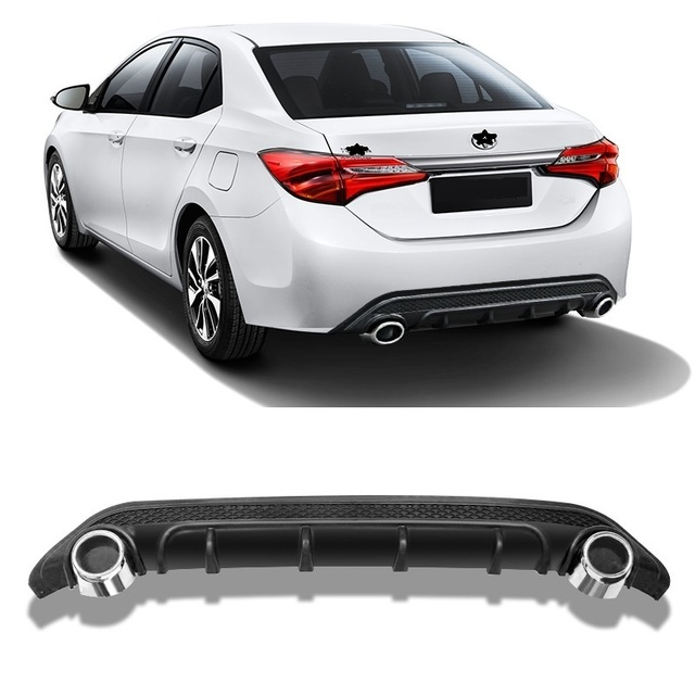 Car Rear Diffuser Front Lip Styling Accessory Decoration Parts tuning Bumpers protector 14 15 16 17 18 FOR Toyota Levin