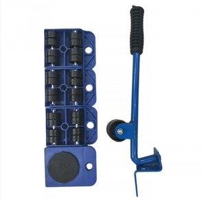 Image 3 - 5 sztuk profesjonalne meble Transport podnośnik zestaw narzędzi ciężkie spożywczych ruchu narzędzia ręczne zestaw Wheel Bar Mover urządzenie
