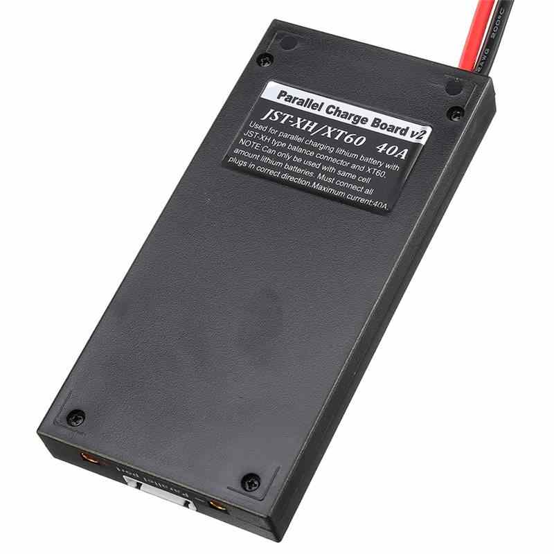 High Quality XT60 Plug Parallel Charging Board For ISDT D2 Q6 T6 Lite Charger For RC Models Drone Quadcopter