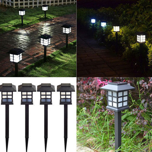 Lights & Lighting Outdoor Lighting Retro Led Solar Lamp Lawn Light Path Outdoor Spot Light Waterproof Colorful Led Lanterns Lamps For Landscape Garden Decorative