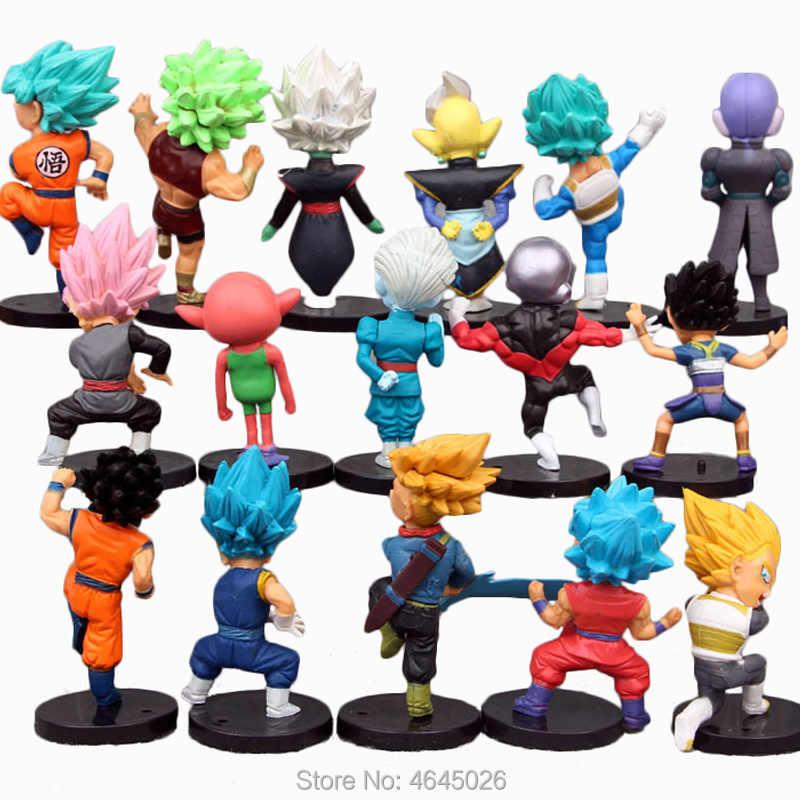 Dragon Ball Super Saiyan Rose Zwart Zoon Goku Blauw Vegeta Hit Jiren Actiefiguren Cabba Zamasu Anime Beeldjes Poppen Kids speelgoed