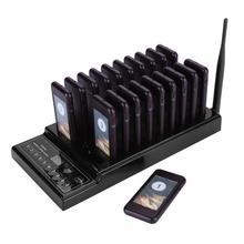 SU 68Zレストランウェイター通話システムワイヤレスページングキューシステム 20 コールブザークイズ顧客サービス機器