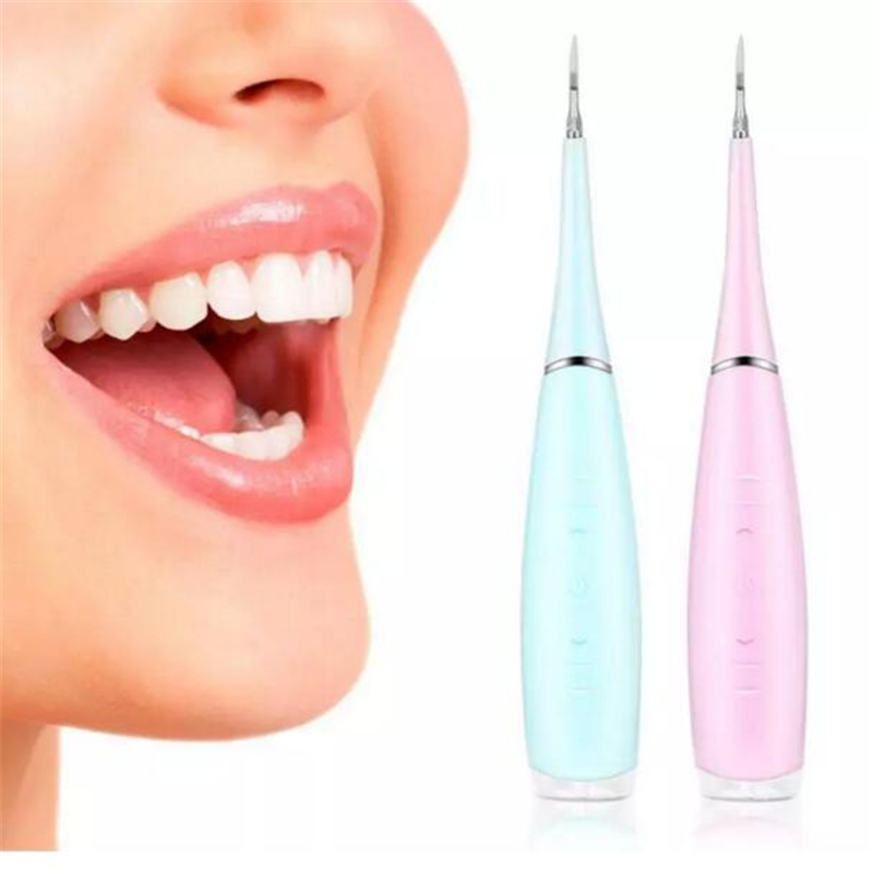 Electric Oral Irrigator Teeth Cleaning Dental Calculus Removal Tartar Cle ☀A