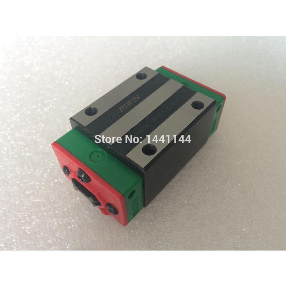 HGR20 HIWIN linear rail: 8pc HGH20CA 100% New Original HIWIN brand linear guide block for HIWIN linear rail HGR20 CNC parts 1pcs hiwin rgw65 rgw65hc rg65 high rigidity roller type linear guide block original hiwin rolling linear guide cnc parts stock