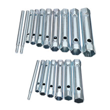 8-19mm 6-22mm 6PC/10PC Metric Tubular Box Wrench Set Tube Ba