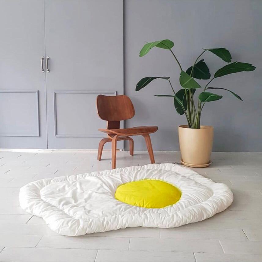 Oeuf coton bébé Gym tapis de jeu Puzzle activité Babygym mousse couverture enfants escalade tapis rampant tapis literie chambre tapis de jeu