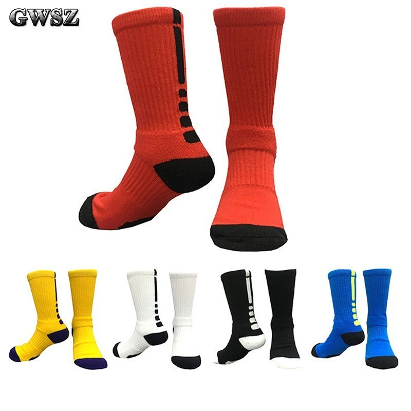 Children High Canister Basketball Socks Elite Socks Teenagers High Socks Ventilation Towel Bottom Major Run Motion Socks