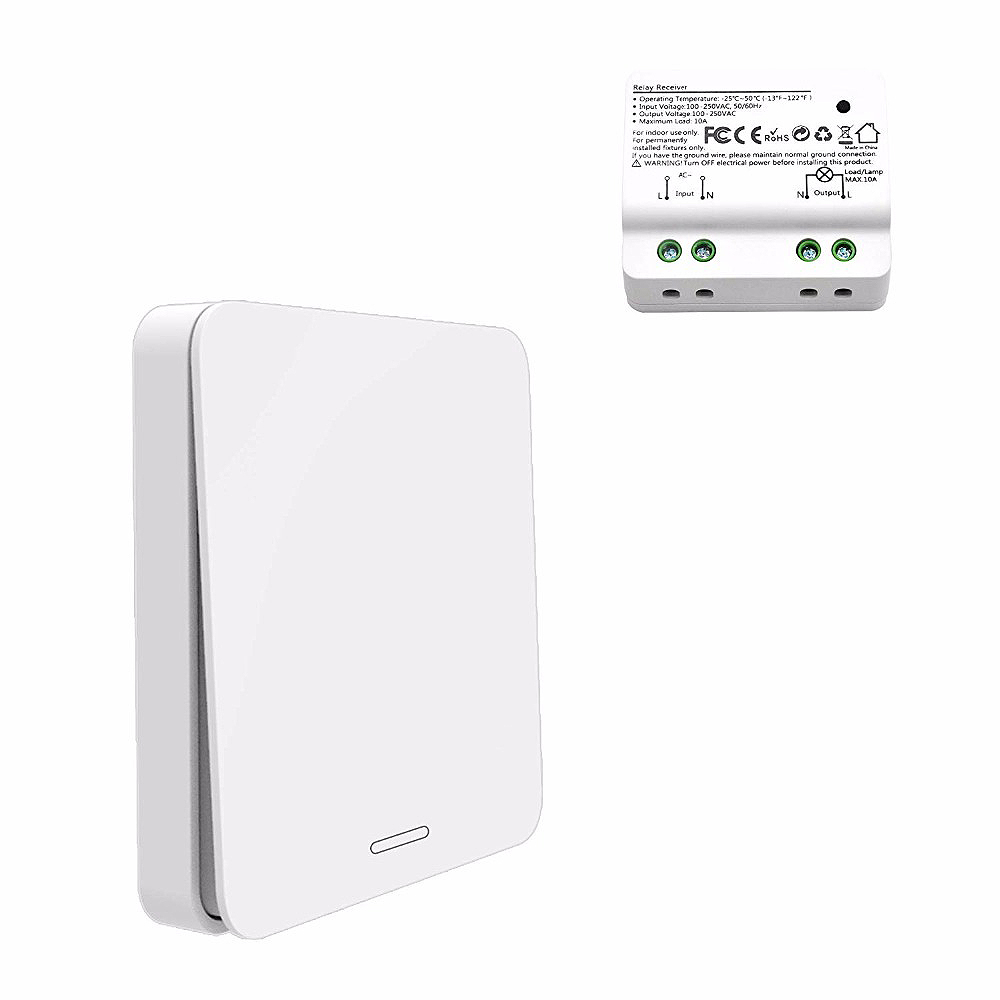 Hot Sale Wireless Switch, Self-Powered No Battery No Wiring Needed, Remote Control Light Lamps, Ventilator, Exhaust FanHot Sale Wireless Switch, Self-Powered No Battery No Wiring Needed, Remote Control Light Lamps, Ventilator, Exhaust Fan