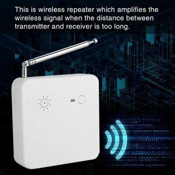 433 MHZ Wifi Wireless Repeater Range Extender Signal Amplifer Booster EU Plug 100-240V