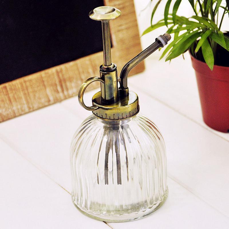 Ретро Лейка для полива стекла, Лейка для полива чайника, садовые инструменты, стеклянная Лейка для душа # CW|Канистры для воды|   | АлиЭкспресс