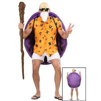 New Arrival Anime Cosplay Master Roshi Halloween Clothing Adult Costume For Man - DISCOUNT ITEM  50 OFF Novelty & Special Use