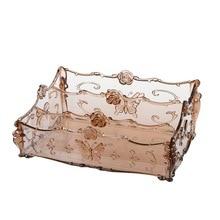 Промо-акция! Экологичный пластиковый органайзер для макияжа, Настольный ящик для хранения, домашний контейнер с пультом дистанционного управления для гостиной, косметический Чехол